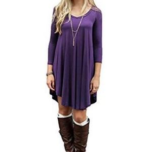 Dresses & Skirts - Purple Dress Size Medium *BRAND NEW*